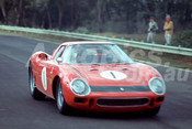 65303 - Spencer Martin Ferrari 250LM - Warwick Farm 1965 - Photographer Richard Austin