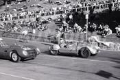 61016 - Murray Carter Corvett Special & W. Suhr JHS - Geelong 1961 - Photographer Peter D'Abbs