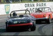 76413 - J. Davison / P. Hopewood Lotus Elan - Oran Park 1976
