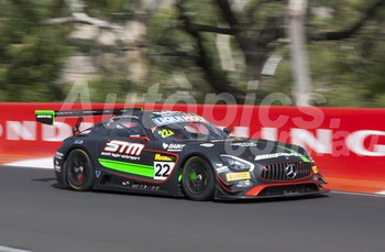 17024 - Craig Baird,  Shane van Gisbergen, Maro Engel - Mercedes AMG GT3 - 2017 Bathurst 12 Hour