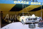 71367 -  Grace Bros Racing Team Ian Geoghegan Falcon & John Leffler Bowin Formula Ford - Amaroo 1970 - Photographer Bob Jess