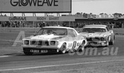 75114 - Pete Geoghegan, Monaro & Jim Richards, Mustang - Calder 1975 - Photographer Peter D'Abbs
