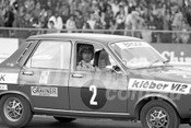 75128 - Peter Brock, Renault R12 Celebrity Race - Calder 1975 - Photographer Peter D'Abbs