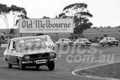 75129 - Peter Brock, Renault R12 Celebrity Race - Calder 1975 - Photographer Peter D'Abbs