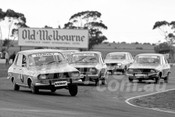 75130 - Harvey, Thomson & Jane, Renault R12 Celebrity Race - Calder 1975 - Photographer Peter D'Abbs