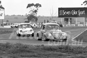 75157 - Michael Abay, Volkswagen & David Price, Mini Cooper S - Calder 1975 - Photographer Peter D'Abbs