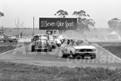 75161a - David Langman, Torana & Ian Chilman, FX Holden - Calder 1975 - Photographer Peter D'Abbs