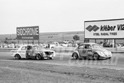 75165 - Michael Abay, Volkswagen & John Smith, EH Holden - Calder 1975 - Photographer Peter D'Abbs