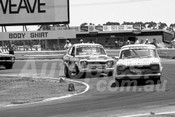 75183 - Ken Harrison & Jim Murcott, Ford Escort - Calder 1975 - Photographer Peter D'Abbs