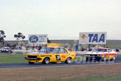 75193 - Peter Janson, Torana SLR & Murray Carter, Falcon GT - Calder 1975 - Photographer Peter D'Abbs
