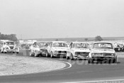 76134 - Paul Stuart, Graeme Smith, Graham Smelt & Tony Hubbard, Torana  - Calder 1976 - Photographer Peter D'Abbs