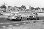 76136 - Keith Surridge & John Kenealy, Mini Cooper S - Calder 1976 - Photographer Peter D'Abbs