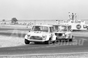 76137 - Chris Neal & John Kenealy, Mini Cooper S - Calder 1976 - Photographer Peter D'Abbs