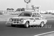 76143 - Jeremy Braithwaite, Escort RS2000 - Calder 1976 - Photographer Peter D'Abbs