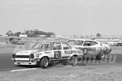 76150 - John Walker, Torana L34 & Murray Carter, Falcon GT - Calder 1976 - Photographer Peter D'Abbs