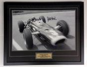 1159 - Jackie Stewart, Warwick Farm 1967 - Limited Edition of 5 Only - Framed &  Personally Signed