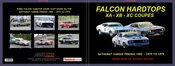Ford Hardtops - Bathurst '73 to '79 - 80 Page Hard Cover Book - Pictorial History