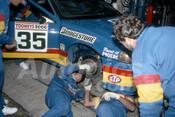 93761 - GEOFF BRABHAM / DAVID PARSONS - Falcon EB -  Bathurst 1993  - Photographer Marshall Cass