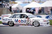 93785 - PETER BROCK / JOHN CLELAND - Commodore VP -  Bathurst 1993  - Photographer Marshall Cass