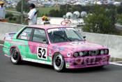 93789 - JOHN COTTER / PETER DOULMAN - BMW M3 2.0 -  Bathurst 1993  - Photographer Marshall Cass