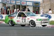 93799 - MIKE CONWAY / CALVIN GARDINER / GAVIN MONAGHAN - Toyota Corolla - Bathurst 1993  - Photographer Marshall Cass