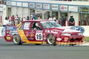 93813 - RICHARD WILSON / GREGG McSHANE / GLENN MASON - Commodore VL-  Bathurst 1993  - Photographer Marshall Cass