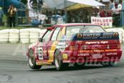 93815 - RICHARD WILSON / GREGG McSHANE / GLENN MASON - Commodore VL-  Bathurst 1993  - Photographer Marshall Cass