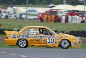 93817 - BILL O'BRIEN / BARRY GRAHAM / BRIAN CALLAGHAN Jnr - Commodore VL-  Bathurst 1993  - Photographer Marshall Cass