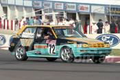 93844 - BRAD STRATTON / CHRIS MADDEN - Toyota Corolla -  Bathurst 1993  - Photographer Marshall Cass