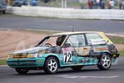 93845 - BRAD STRATTON / CHRIS MADDEN - Toyota Corolla -  Bathurst 1993  - Photographer Marshall Cass