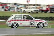 93851 - FRANK BINDING / FRANK DARTELL - Toyota Corolla -  Bathurst 1993  - Photographer Marshall Cass
