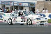 93857 - JOHN LEESON / STEVE COULTER / GREG SMITH - Commodore VL-  Bathurst 1993  - Photographer Marshall Cass
