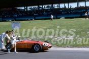 62598 - Pat Hoar, Ferrari Dino 246/60 - Sandown 11th March 1962  - Photographer  Barry Kirkpatrick