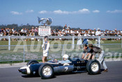 62600 - Stirling Moss, Lotus 21 - Sandown 11th March 1962  - Photographer  Barry Kirkpatrick
