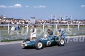 62601 - Bruce McLaren, Cooper T53 Climax - Sandown 11th March 1962  - Photographer  Barry Kirkpatrick