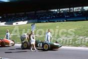 62605 - Jim Clark, Lotus 21 Climax - Sandown 11th March 1962  - Photographer  Barry Kirkpatrick