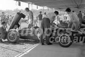 62606 - J. Hunnman Lotus - Sandown 11th March 1962  - Photographer  Barry Kirkpatrick
