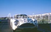 62608 - Doug Whiteford, Aston Martin Zagato - Sandown 11th March 1962  - Photographer  Barry Kirkpatrick