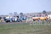 69375 - Bob Jane, Mustang & Alan Hamilton, Porsche - Calder 1969 - Photographer Barry Kirkpatrick