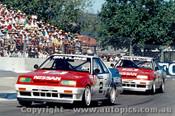 89008 - G. Fury / M. Skaife  Nissan Skyline Adelaide 1989