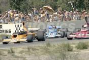 76674 - John Walker, Lola T332-Chev /  Kevin Bartlett, Lola T400-Chev / John Goss, Matich A53-Repco - Wanneroo 21st March 1976 - Photographer Tony Burton