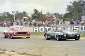 77098 -  Frank Gardner, Chev Corvair & Bob Jane, Monaro - Wanneroo 12th June 1977 - Photographer Tony Burton