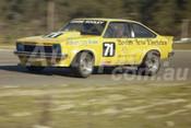 80105 - Graeme Hooley Torana A9X - Wanneroo 6th July 1980 - Photographer Tony Burton