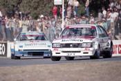 83407 - Peter Brock Commodore / Allan Moffat, Mazda RX-7 -  Australian Touring Car Championship -  Wanneroo 24th April 1983 - Photographer Tony Burton