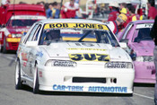 92058 - Bob Jones Holden Commodore -  Wanneroo 6th June 1992 - Photographer Tony Burton