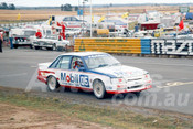 86090 - Peter Brock, Commodore -  Symmons Plains 8th March 1986 - Photographer Keith Midgley