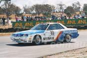 86099 - George Fury, Skyline DR30 RS -  Symmons Plains 8th March 1986 - Photographer Keith Midgley