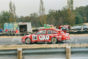 87097 - John Craft/Craig Harris , Ford Sierra -  Symmons Plains 8th March 1987 - Photographer Keith Midgley