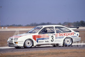 88089 - Tony Longhurst,  Ford Sierra RS500 - Adelaide 1988 - Photographer Ray Simpson
