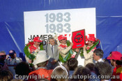 83746  -  P.Brock / J. Harvey / L. Perkins -  Bathurst 1983 - 1st Outright - Commodore VH